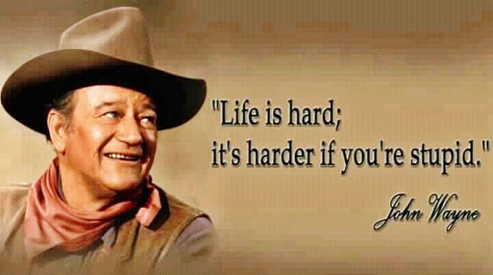 John Wayne Quotes Desktop Wallpaper Quotesgram 3 Quotes
