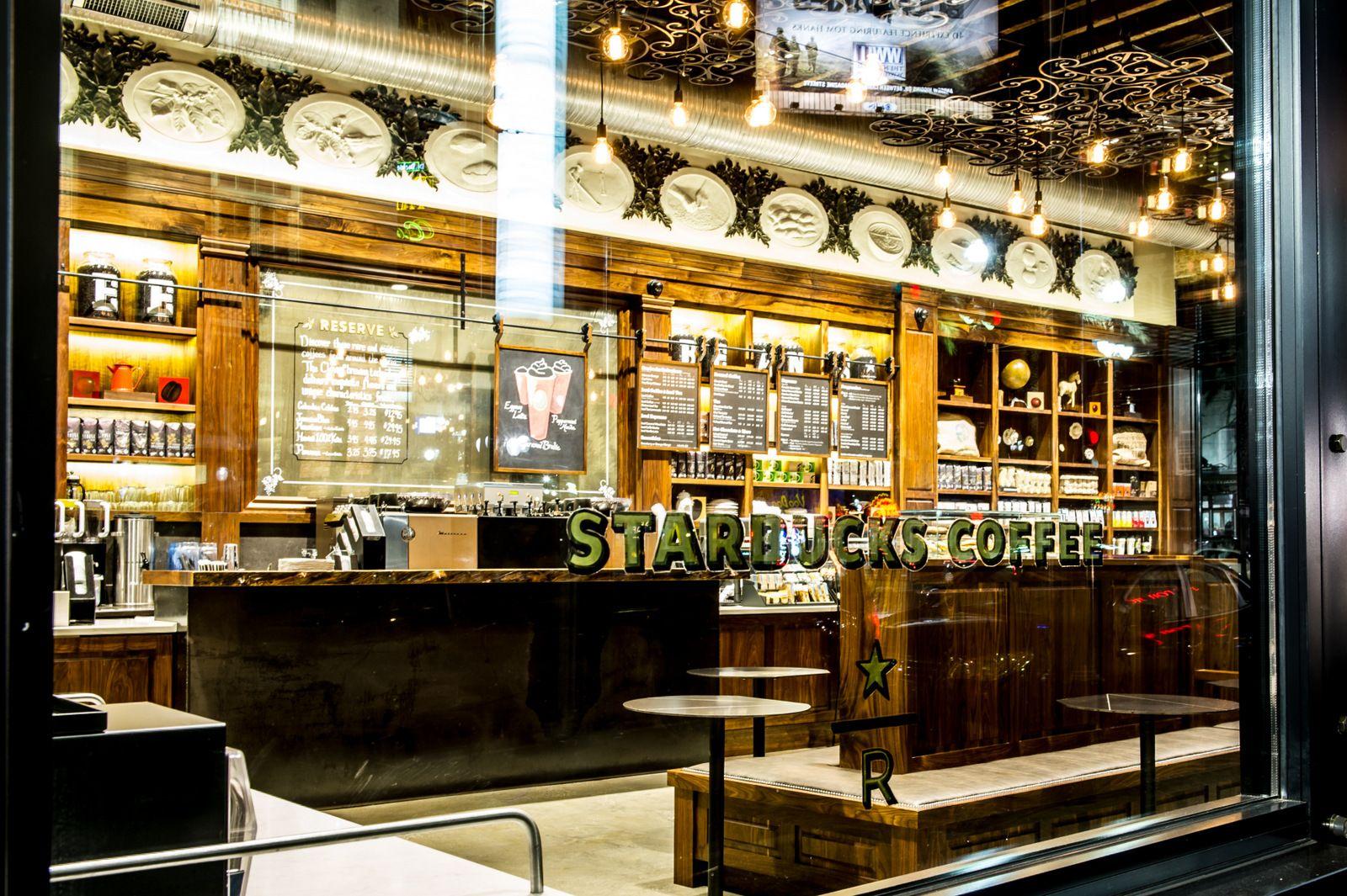 starbucks canal street new orleans interior restaurants bars. Black Bedroom Furniture Sets. Home Design Ideas