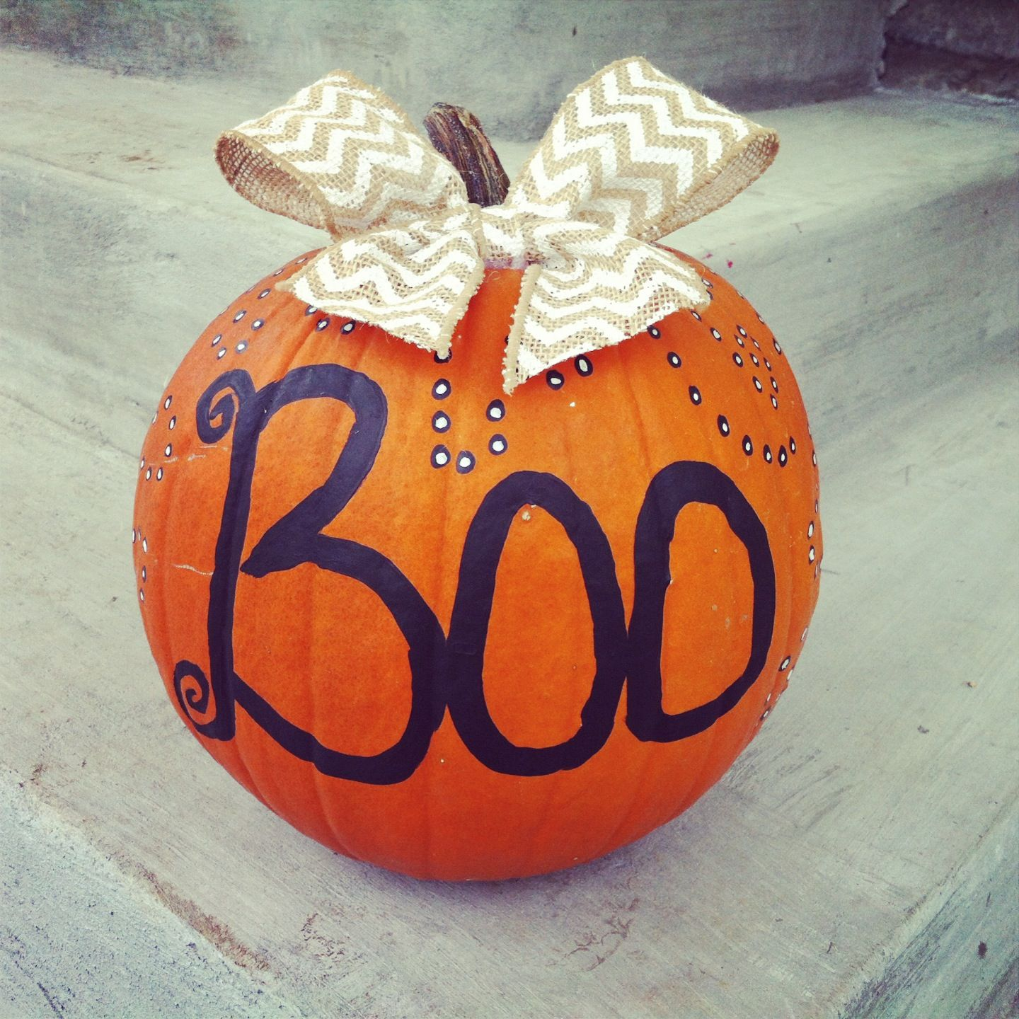 Painted Pumpkin Halloween Pumpkins Pinterest