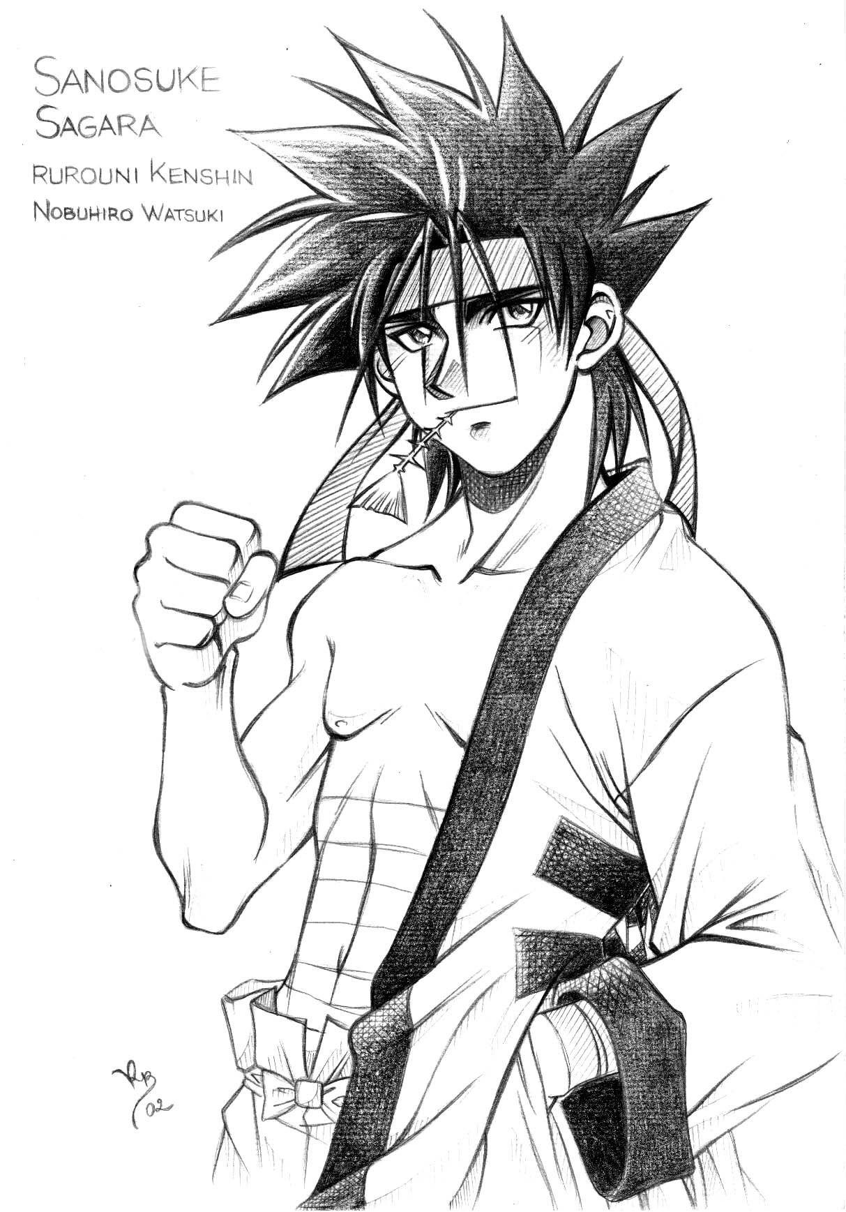 Sanosuké Sagara  renaissancealpha51fr1net