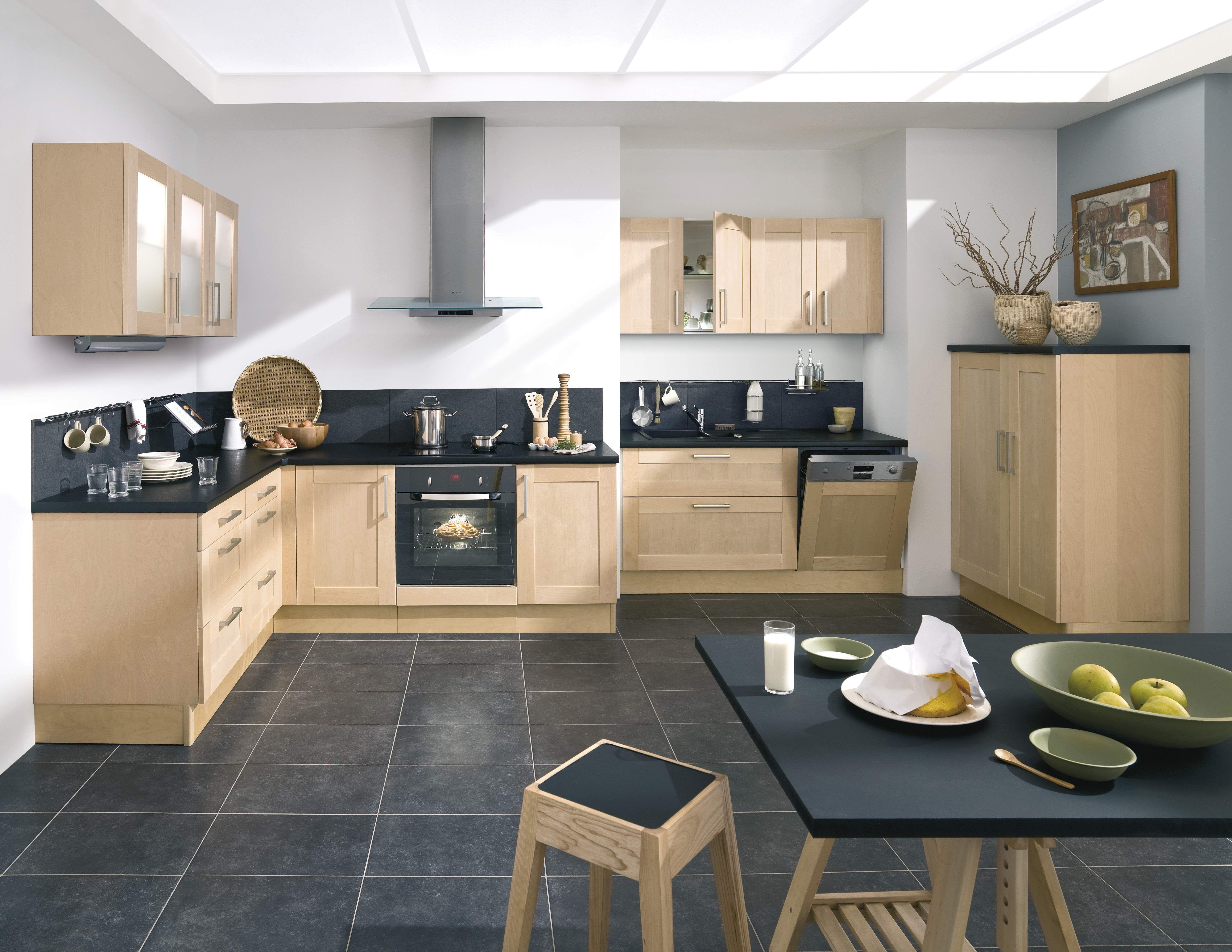 cuisine urban bois flott. Black Bedroom Furniture Sets. Home Design Ideas