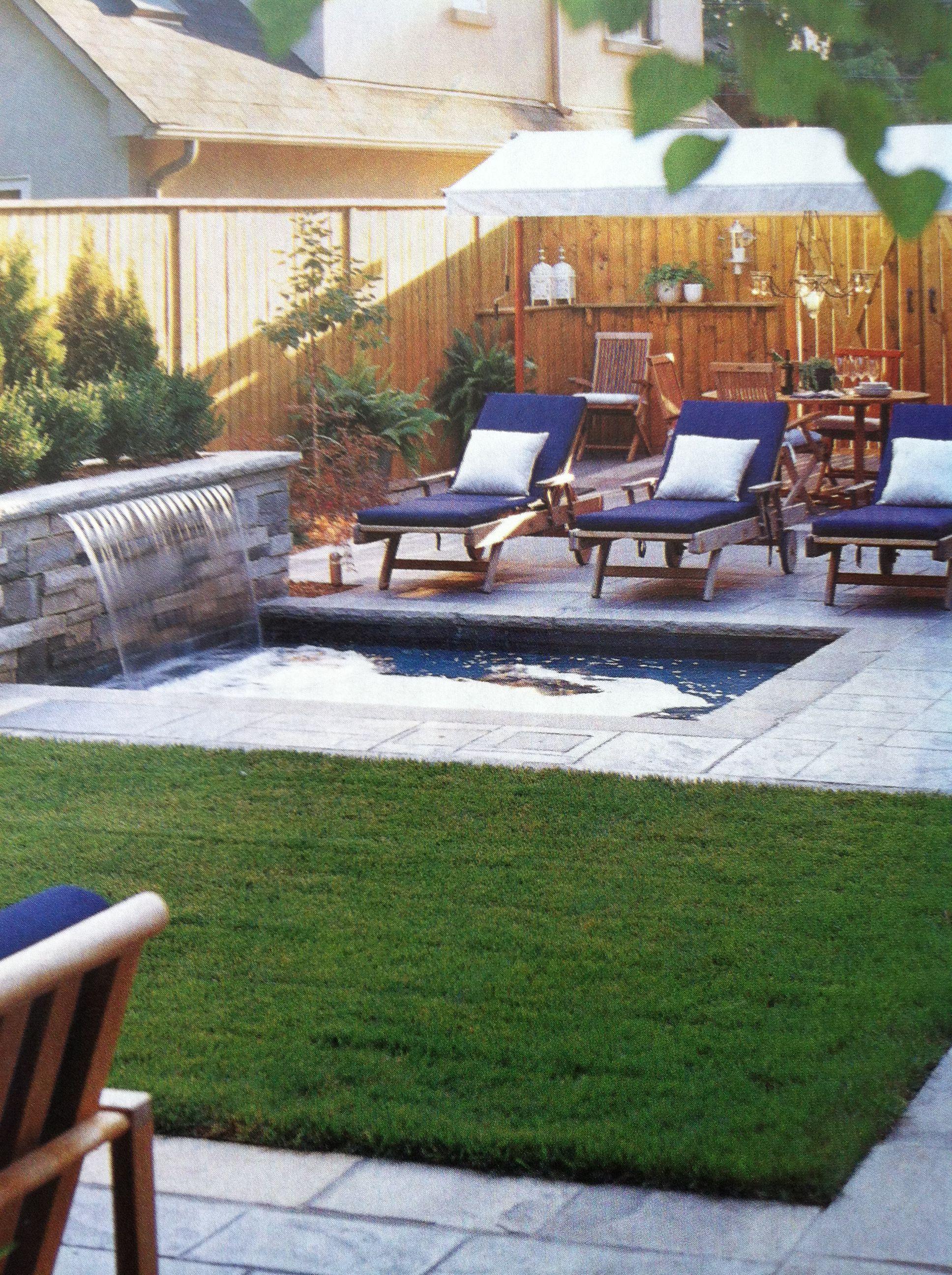 Backyard Oasis Low Maintenance Backyard Ideas Pinterest