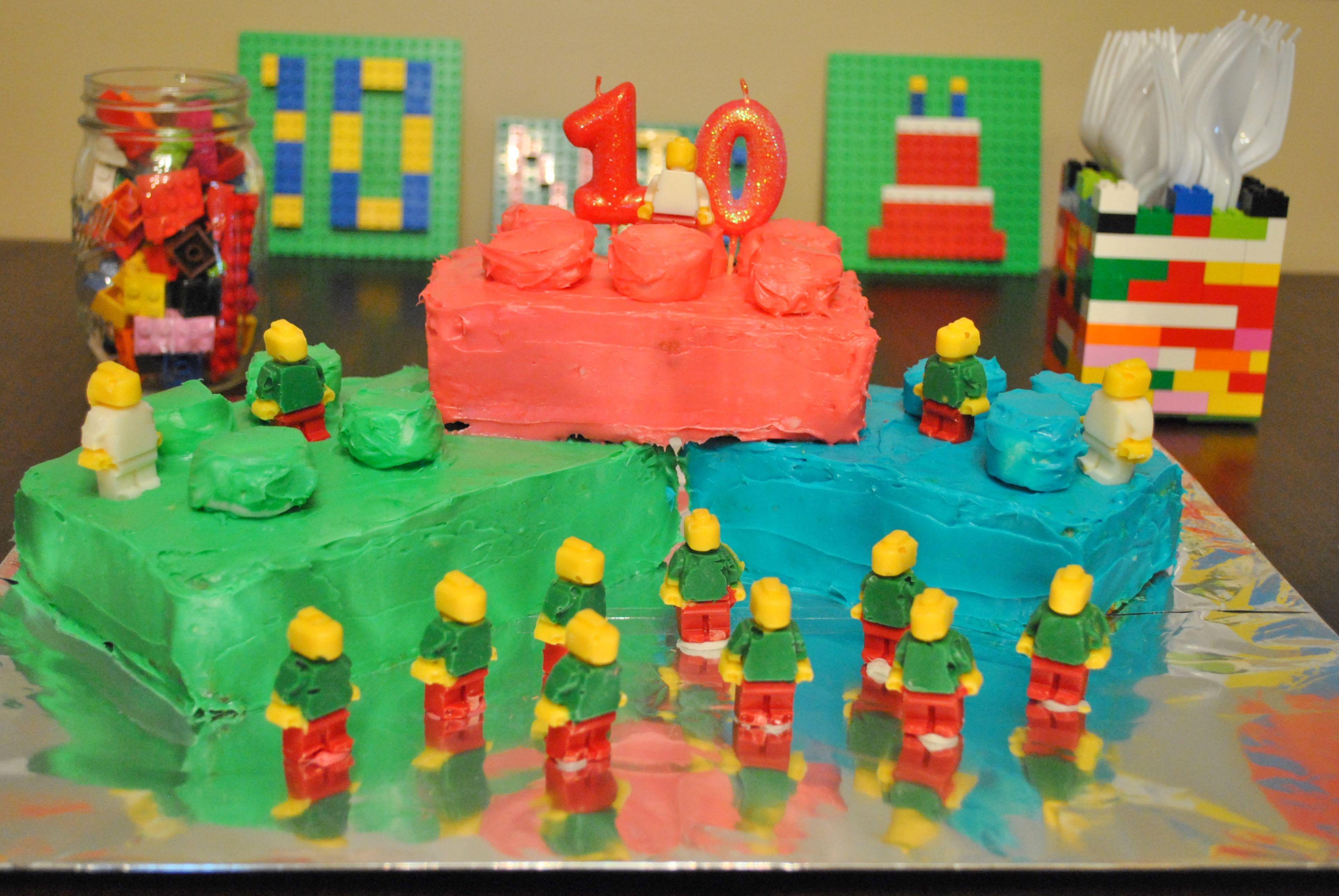 Birthday Cake Ideas Lego ~ Kids lego cake ideas lego cake kids birthday cake