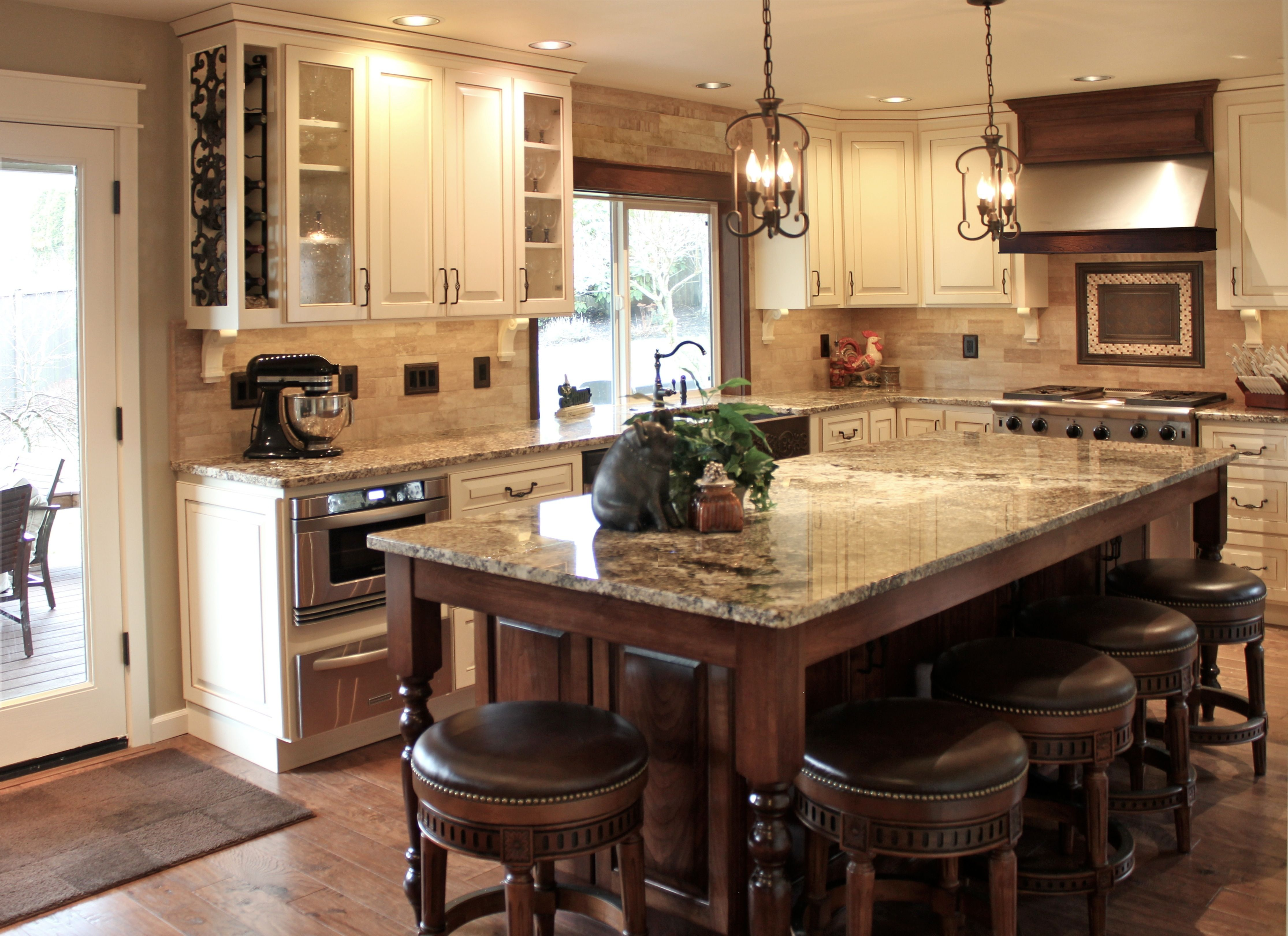 Tuscan kitchen inspirational kitchens pinterest for Small tuscan kitchen designs