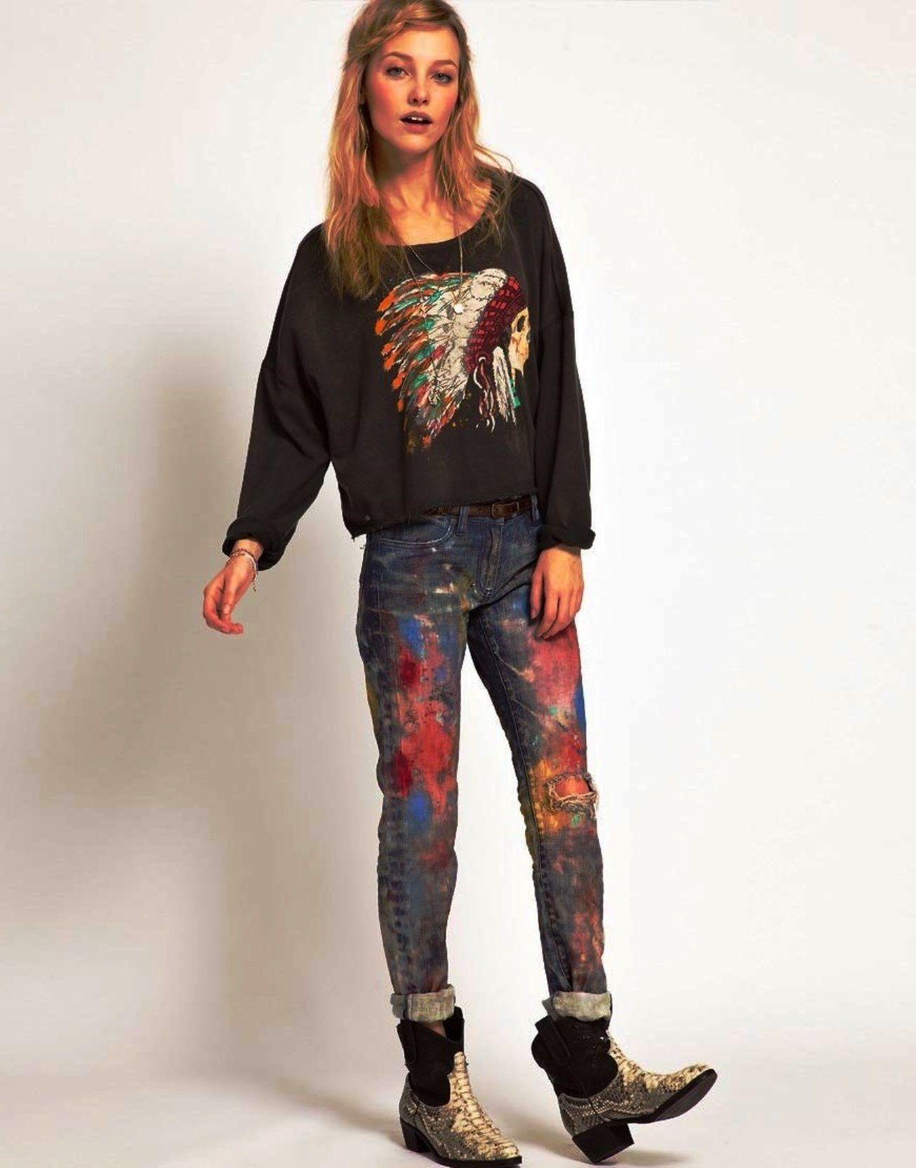80s punk rock fashion women 95