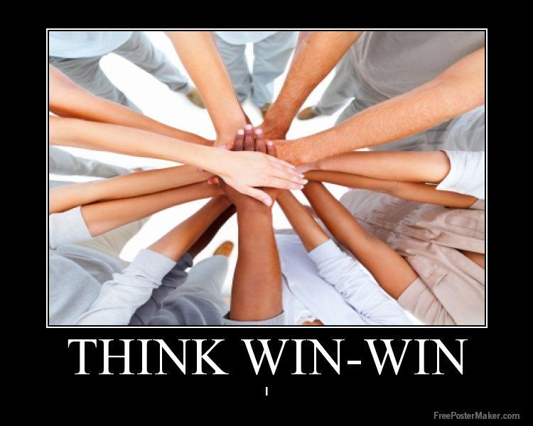Habit 4 : Think Win-win