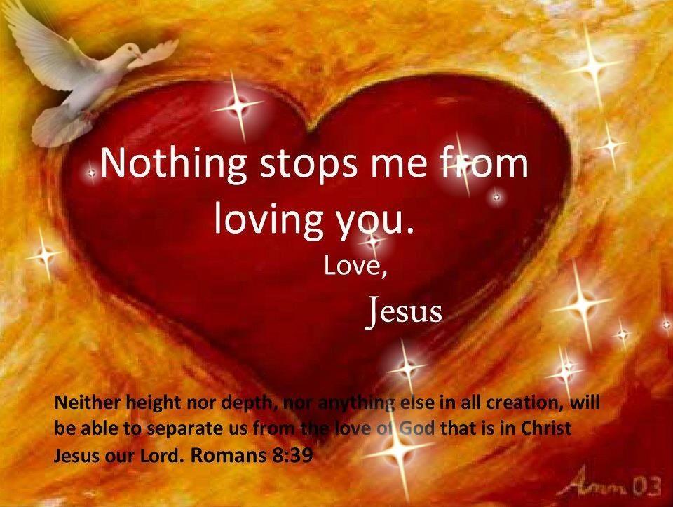 gods love is unchanging king james bible inspirational