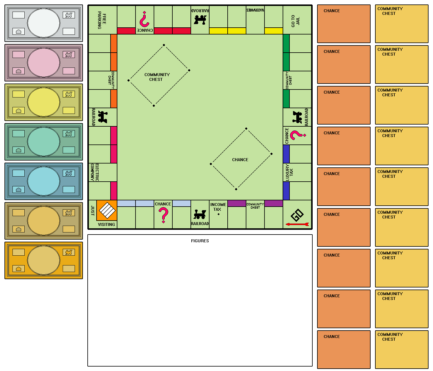Instruction Sheet For Monopoly PDF Download - oukas.info
