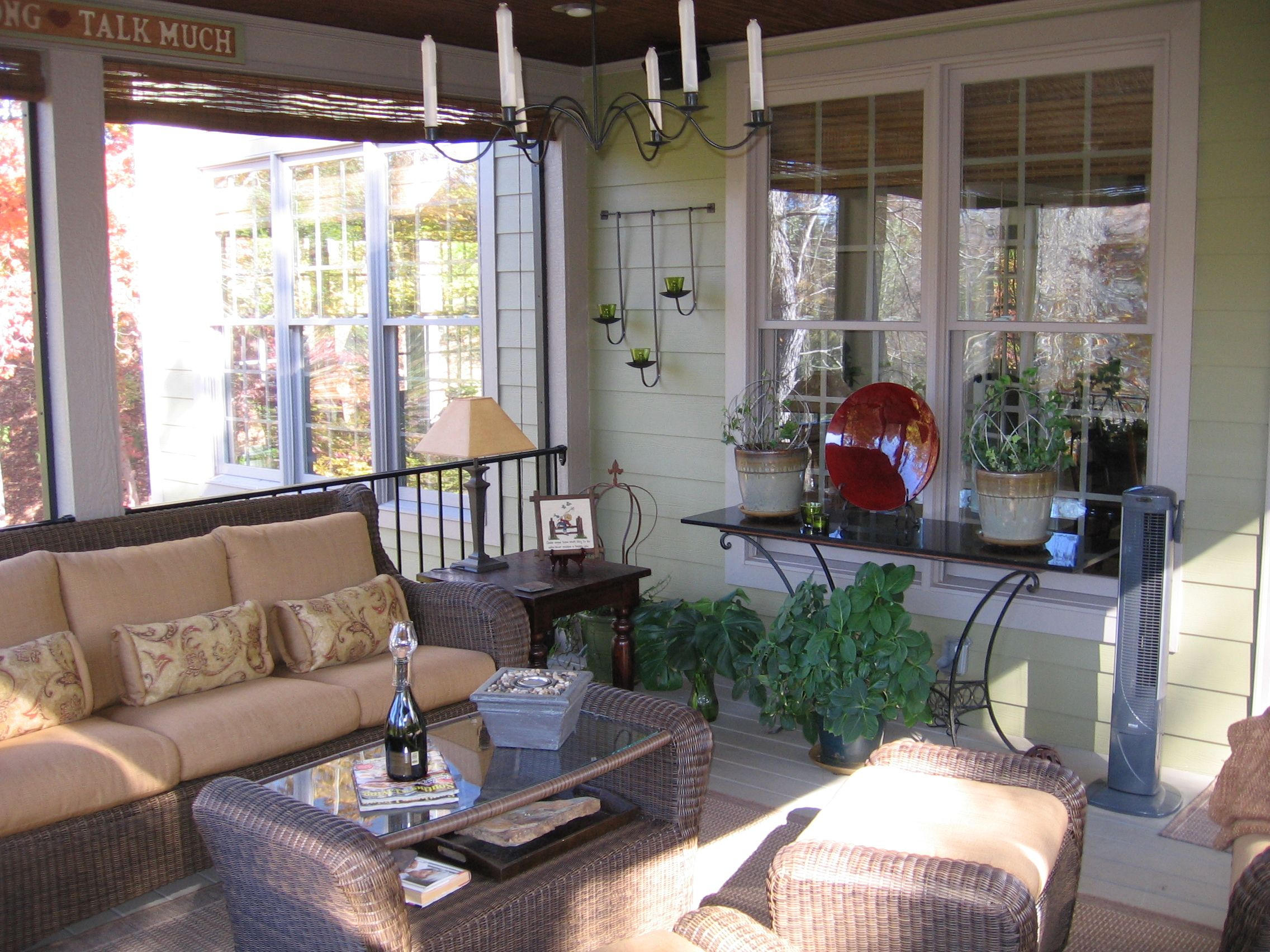 Decorating A Screened Porch Screened Porch Decorating Pinterest
