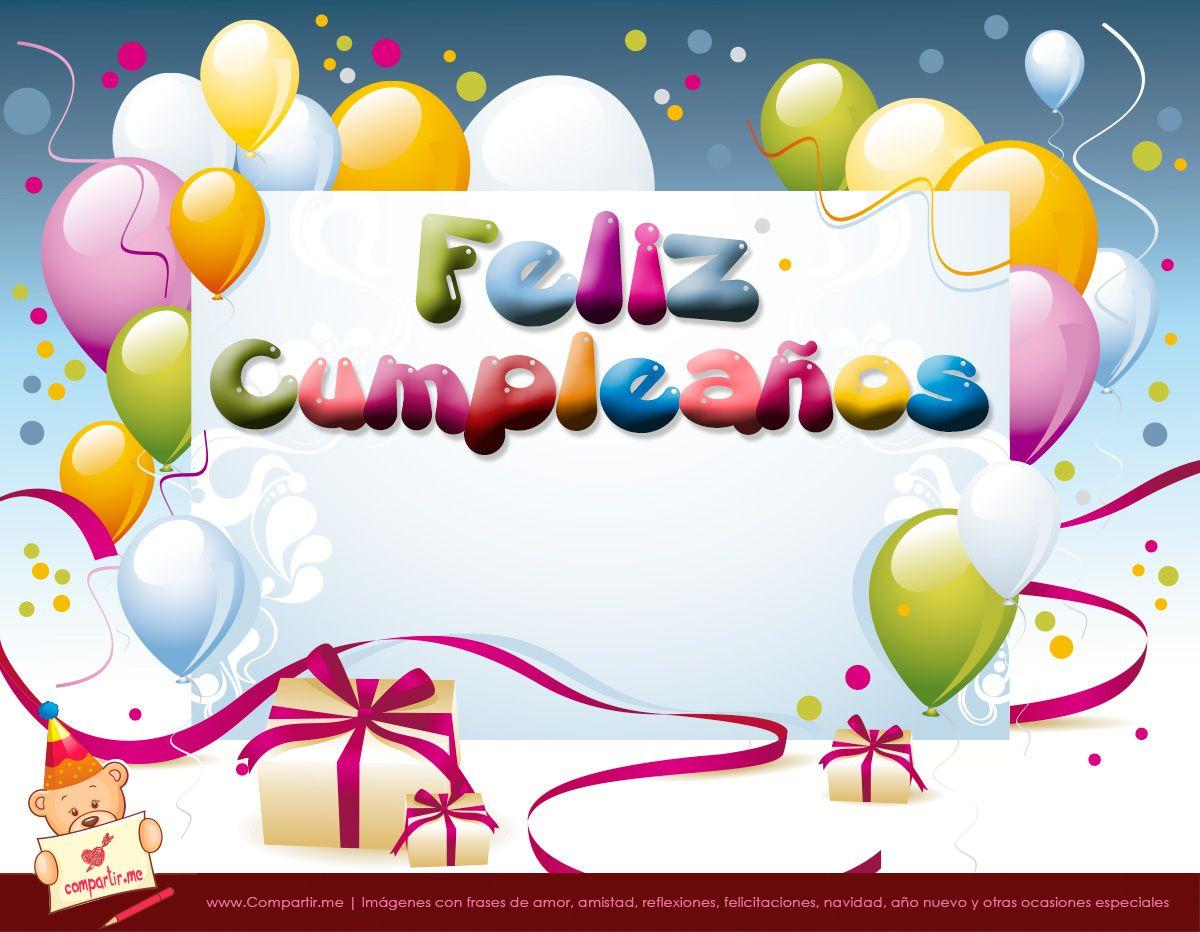 best Tarjetas De Feliz Cumpleaños Gratis Para Imprimir image collection