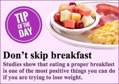 dont skip breakfast Skipping breakfast has pretty consistently been linked to health risks – high blood pressure, overweight, and an unhealthy assortment of blood-fats, among them but what's interesting is that the health effects of skipping breakfast – even being overweight – don't seem to be the result of.