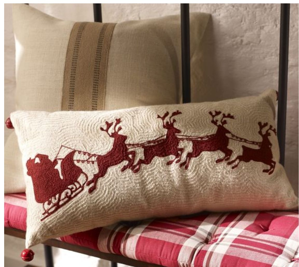 Christmas from Pottery Barn ACCESSORIES & PILLOWS Pinterest
