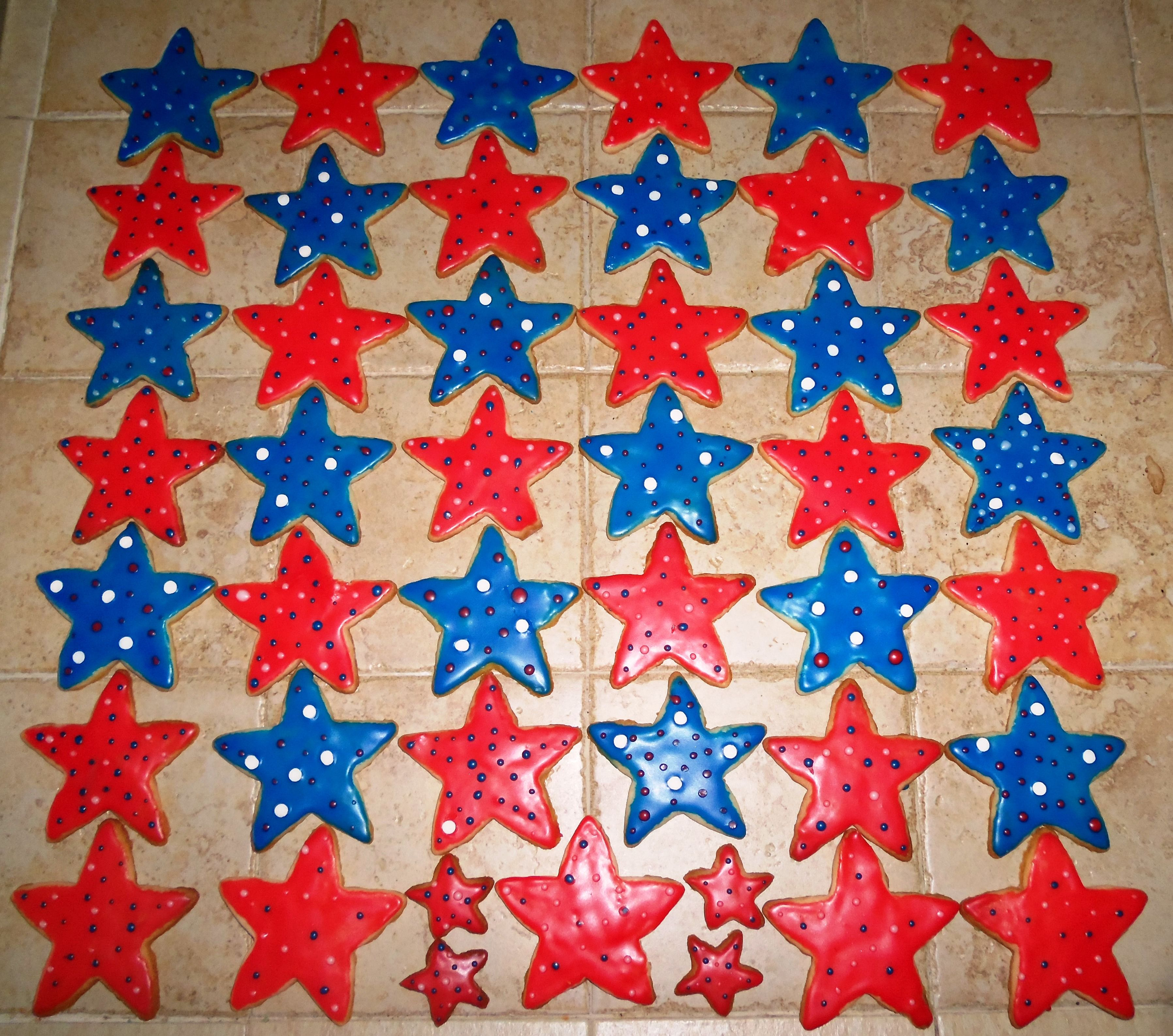 fourth of july cookie cutters