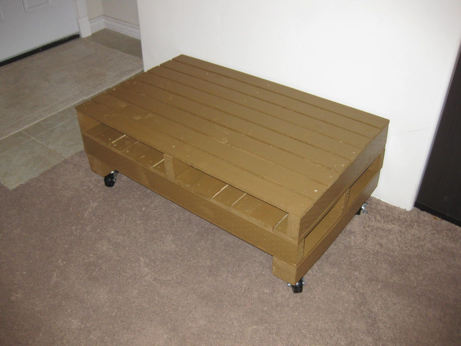 Half Pallet Coffee Table Pallet Furniture Creations