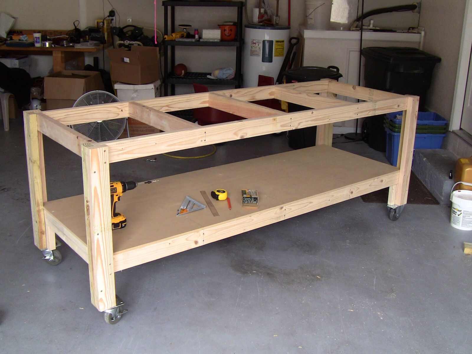 Workbench Garage Pinterest