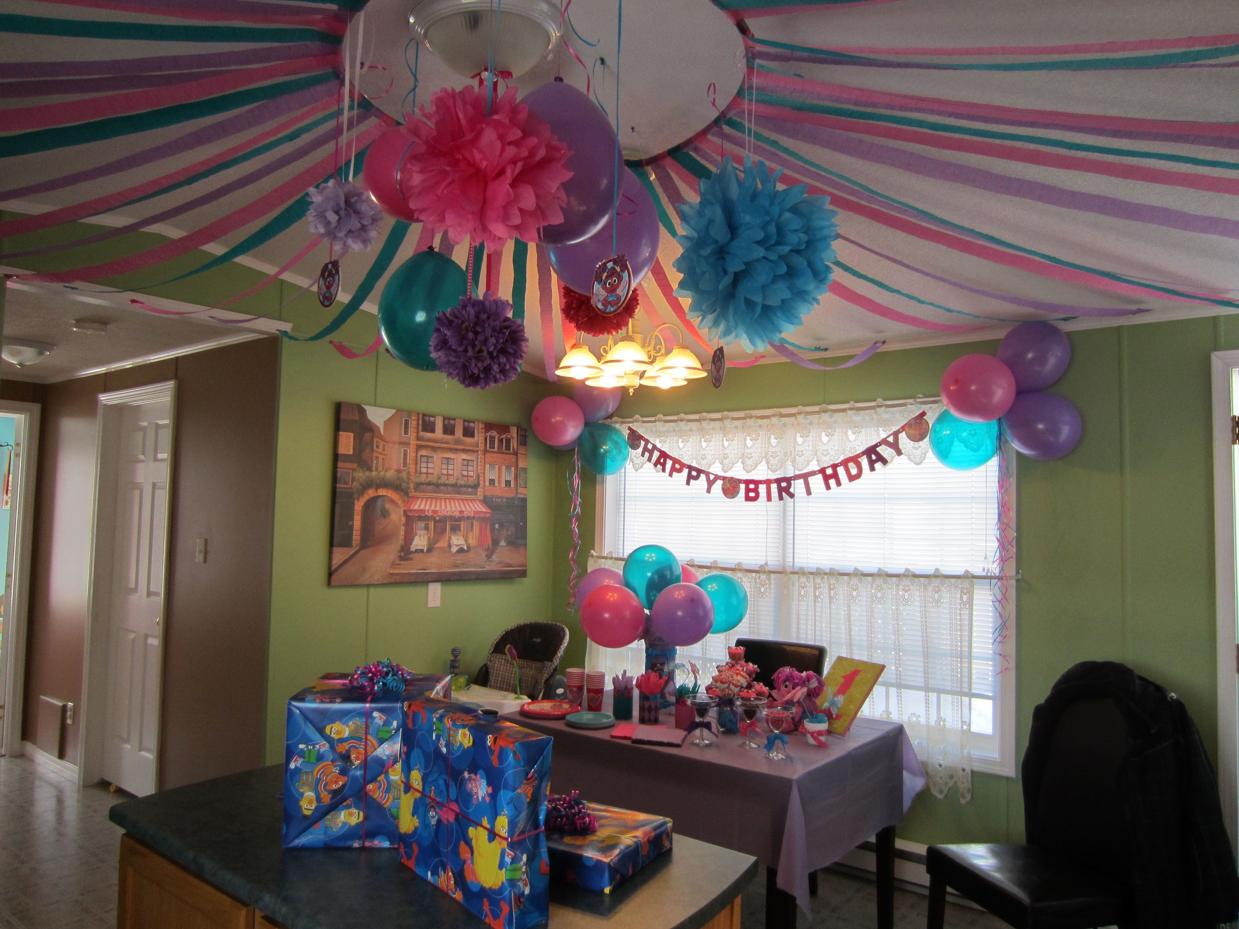 Abby cadabby birthday party bella 39 s 2nd birthday pinterest for 2nd birthday party decoration