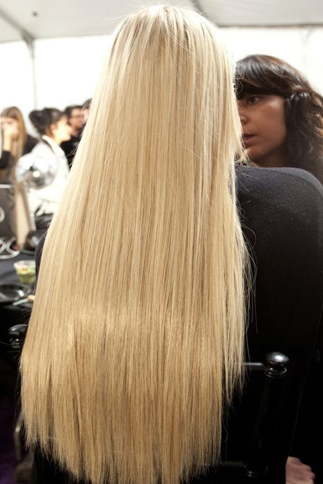 how to get long shiny hair