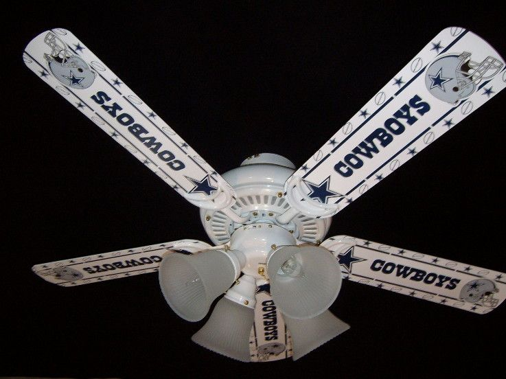 Ceiling Fan Blades | Dallas Cowboy Stuff | Pinterest
