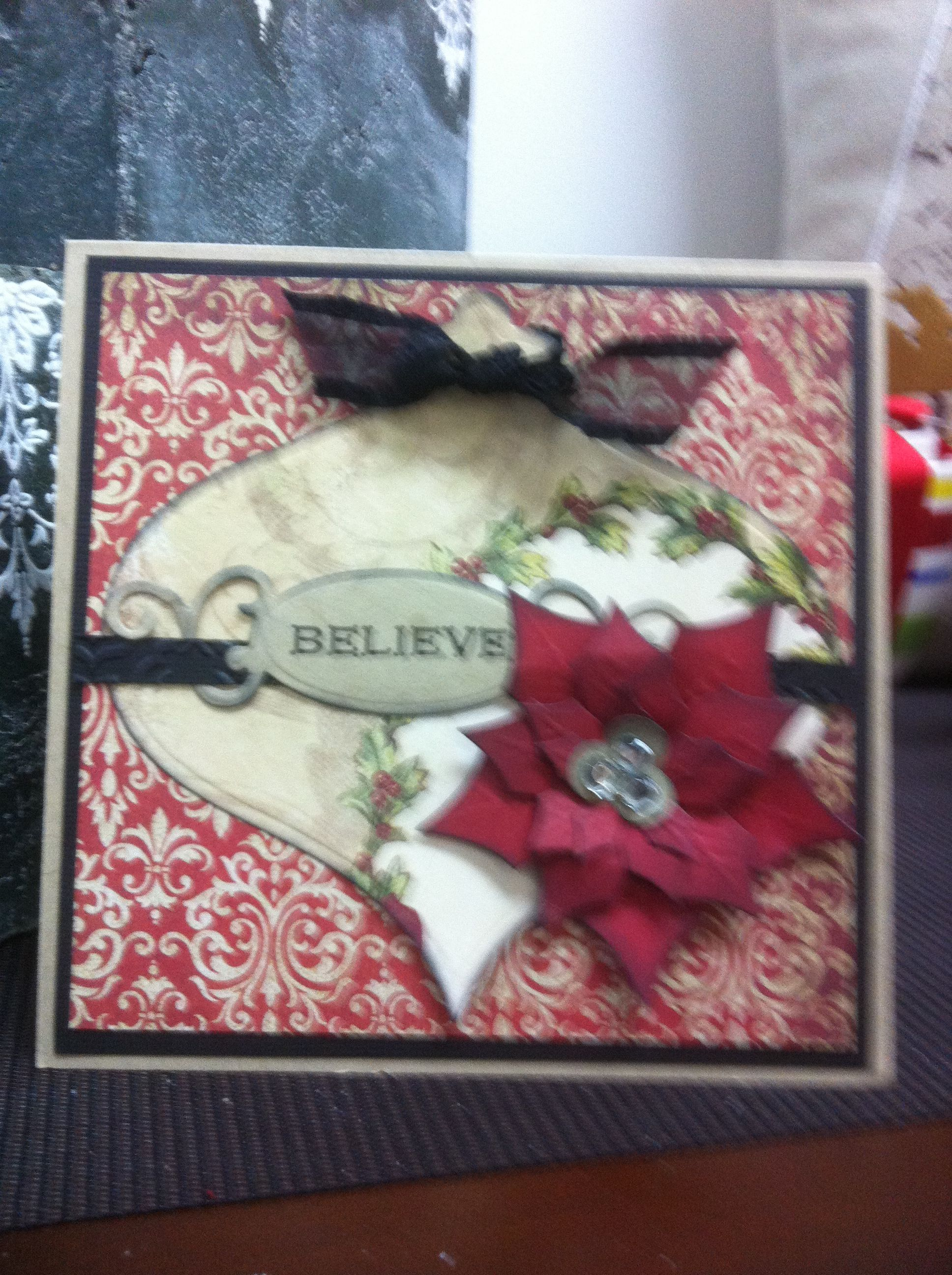 Book country christmas card christmas decorations cards pi