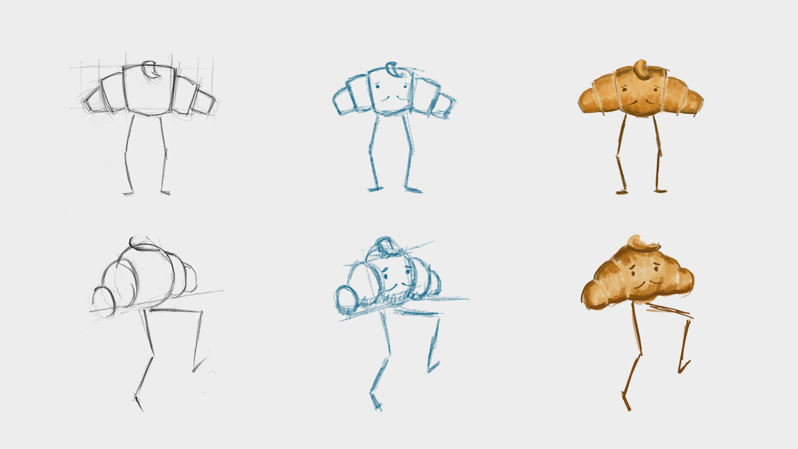 How To Draw Croissant