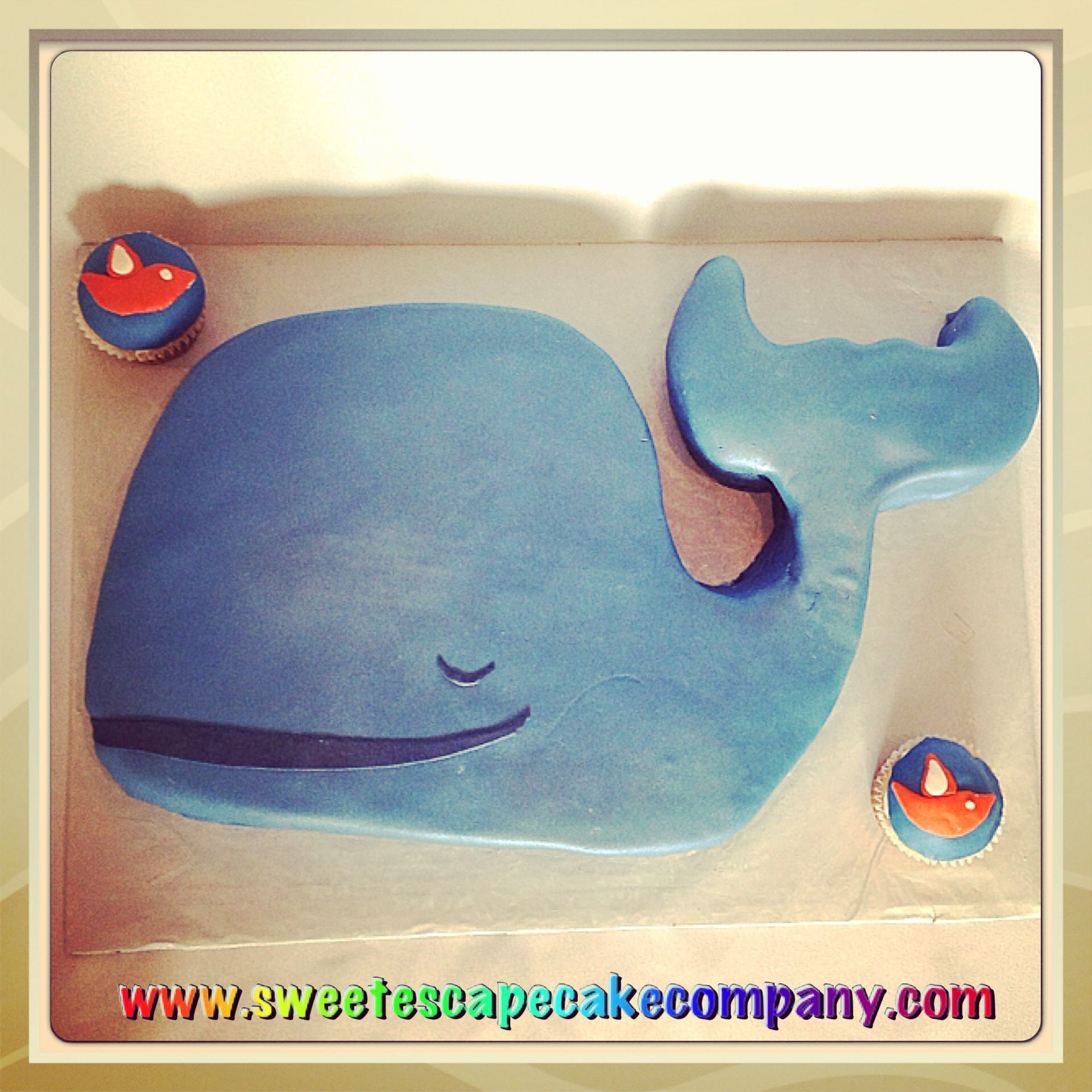 whale baby shower cake cakes pinterest