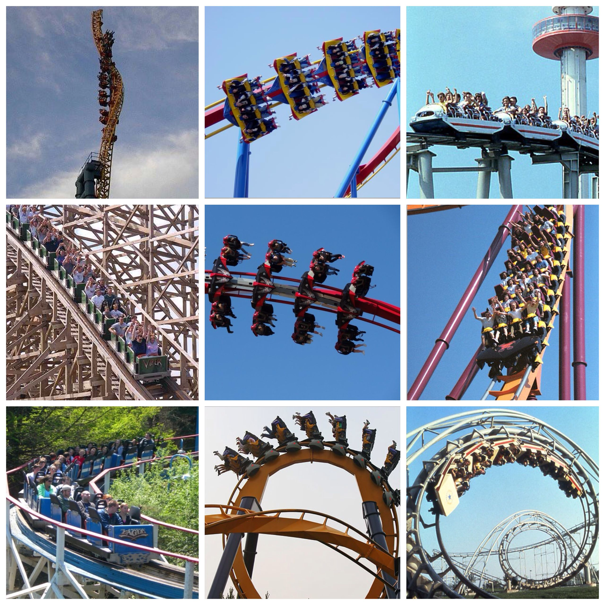 Six Flags Great America My many homes Chicago Pinterest