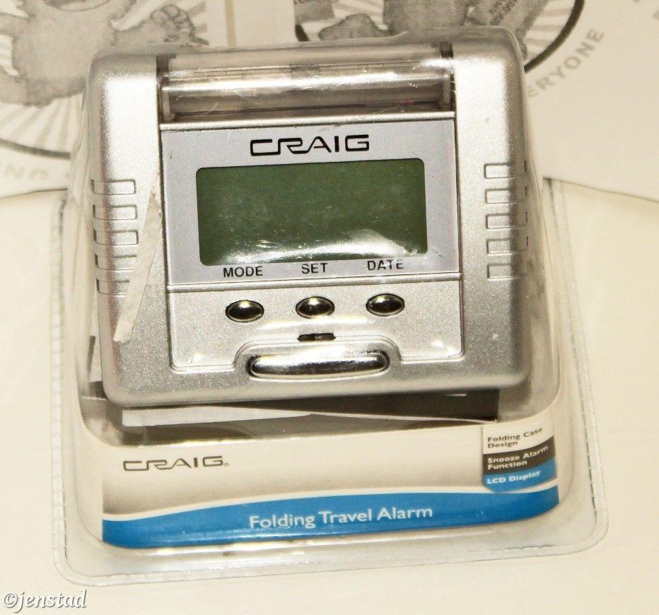 Craig Travel Alarm Clock Instructions Anexa Creancy