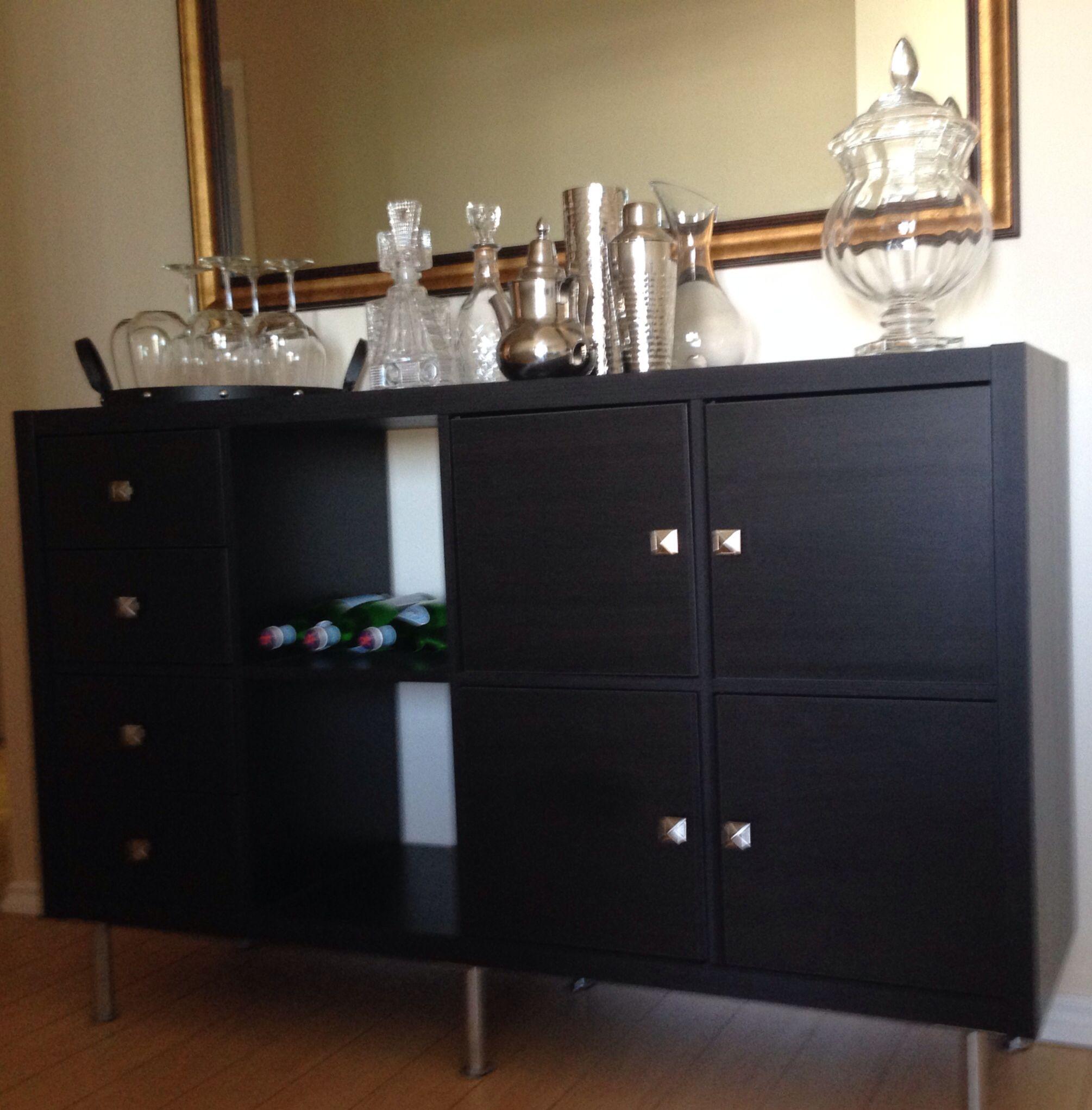 ikea kallax hack b r i l l i a n c e pinterest. Black Bedroom Furniture Sets. Home Design Ideas
