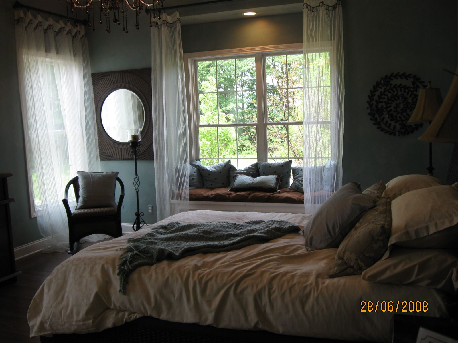 bedroom with window seat luxuries pinterest