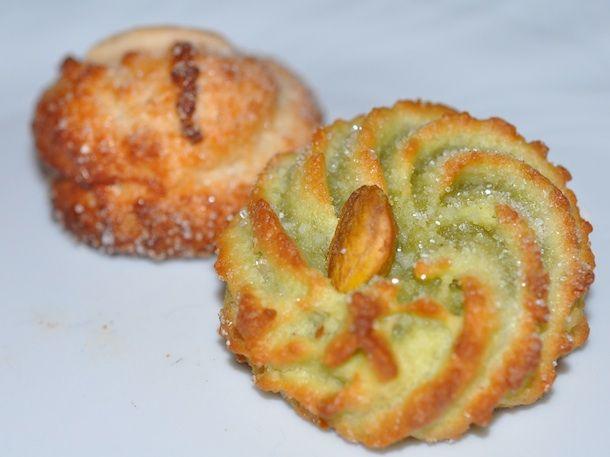 Sicilian Pistachio Cookies Recipe — Dishmaps