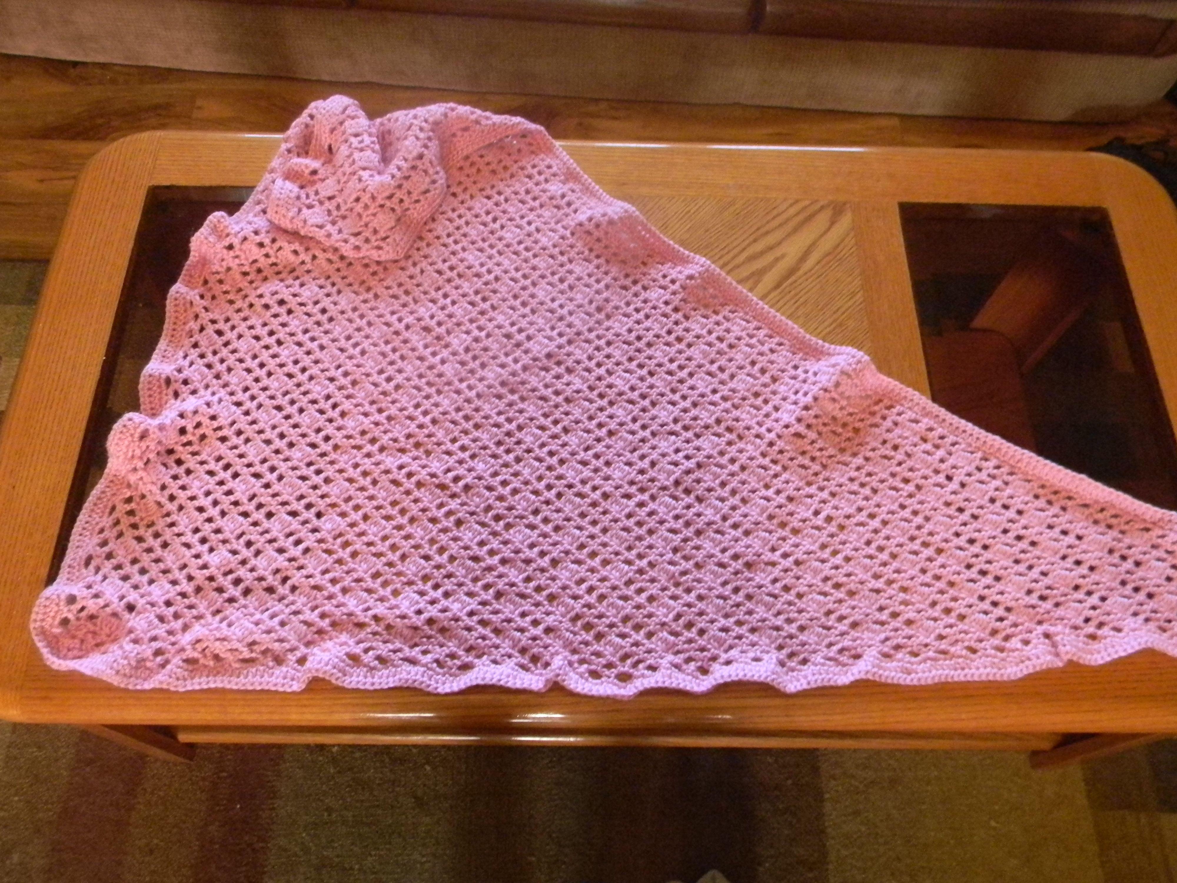 Crocheting Prayer Shawls : Crochet Prayer Shawl crochet/kniting Pinterest