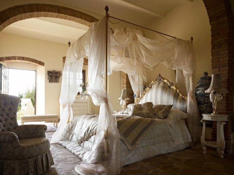 Romantic Canopy Bed Beds Pinterest