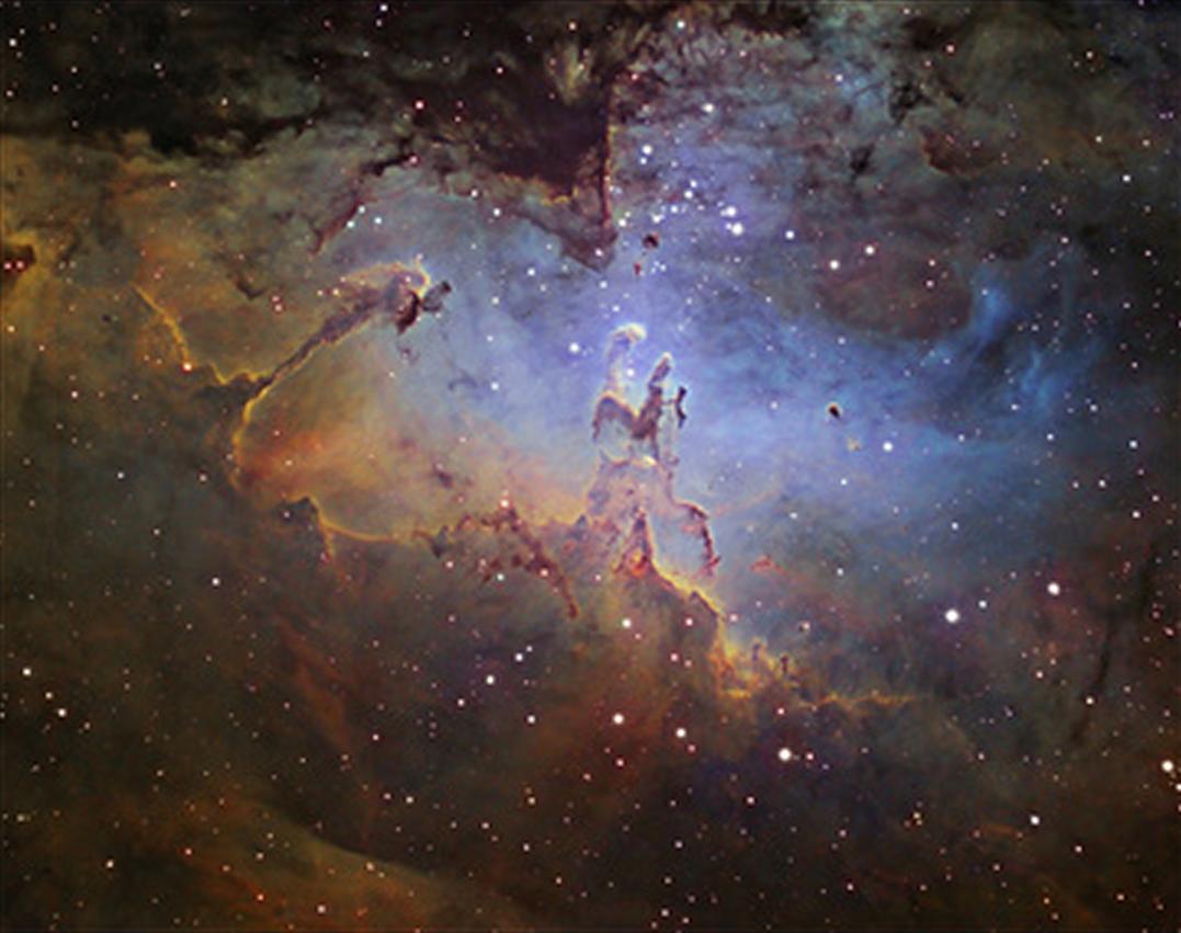m16 eagle nebula face - photo #4