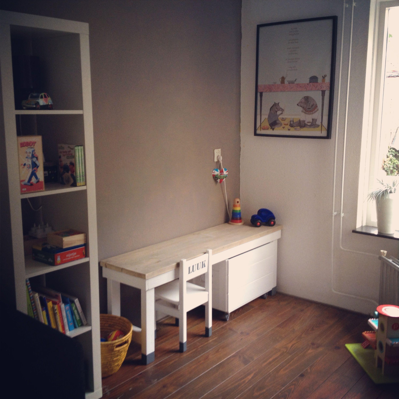Ideeen speelhoek woonkamer: ideas for een speelhoek however the ...