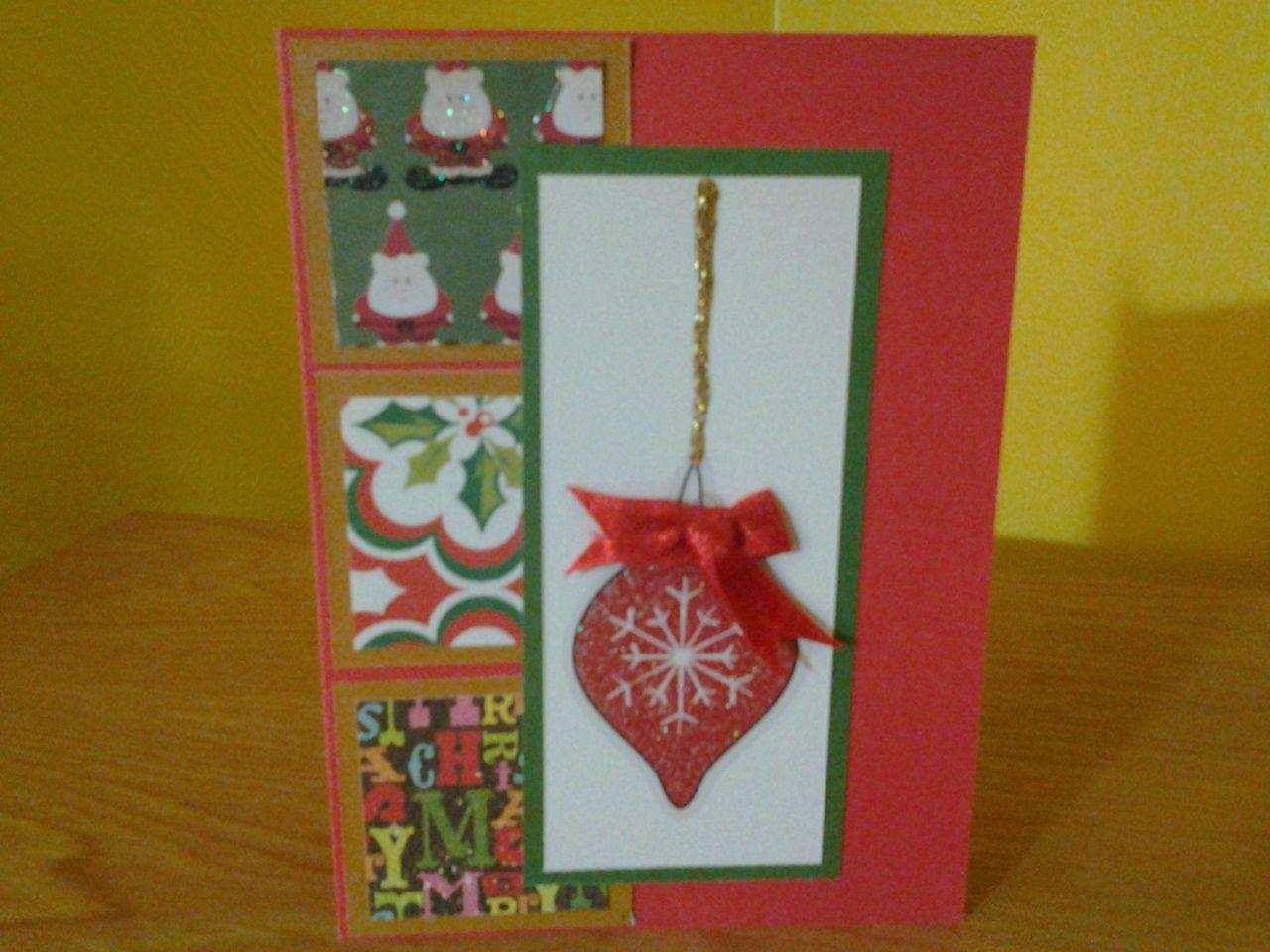 Handmade christmas card cards pinterest for Handmade christmas cards pinterest