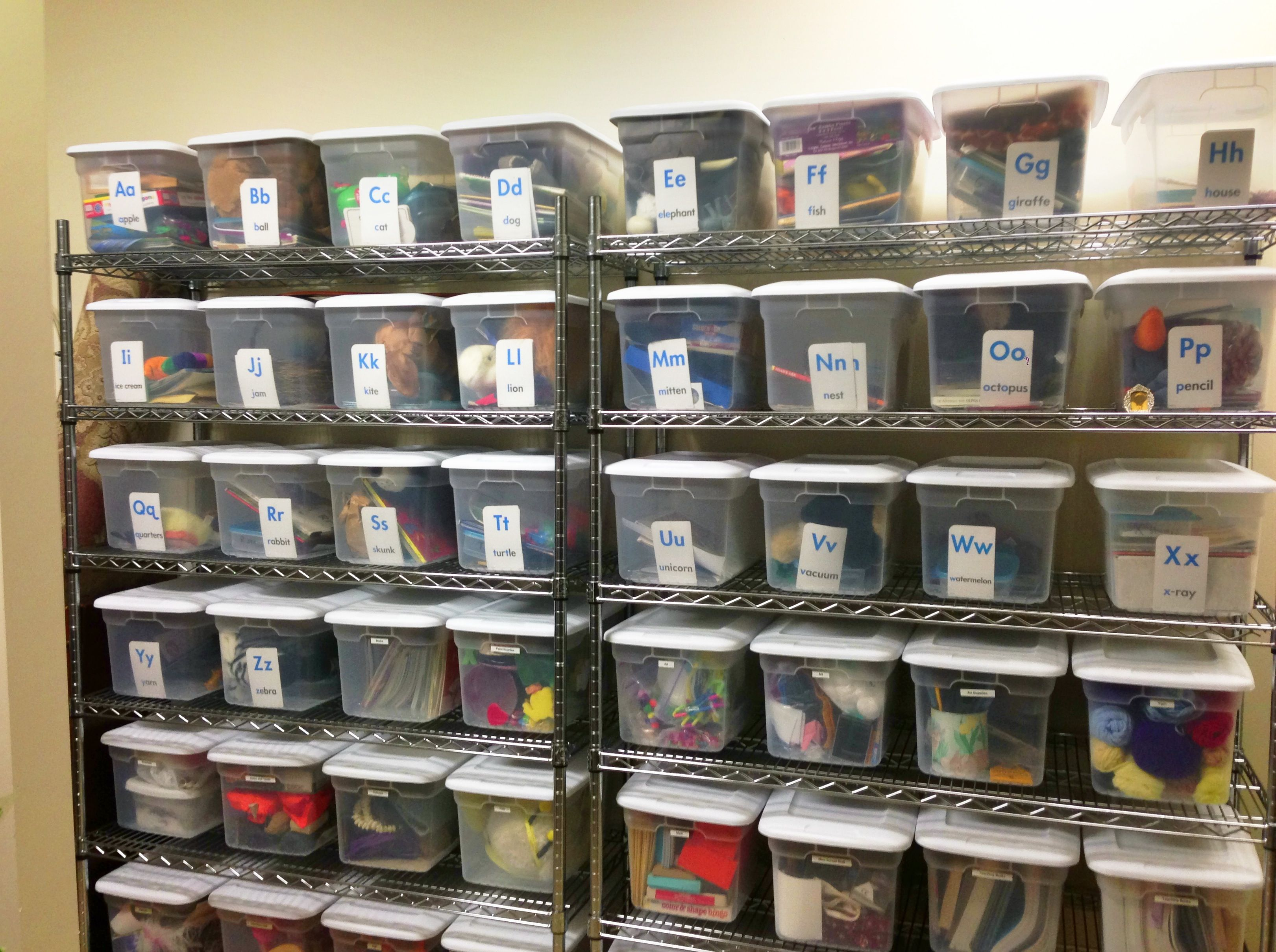 Organized Storage Room Russlong Com Household Tips