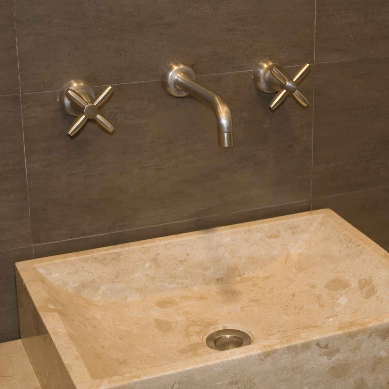 wall mounted faucet powder room pinterest
