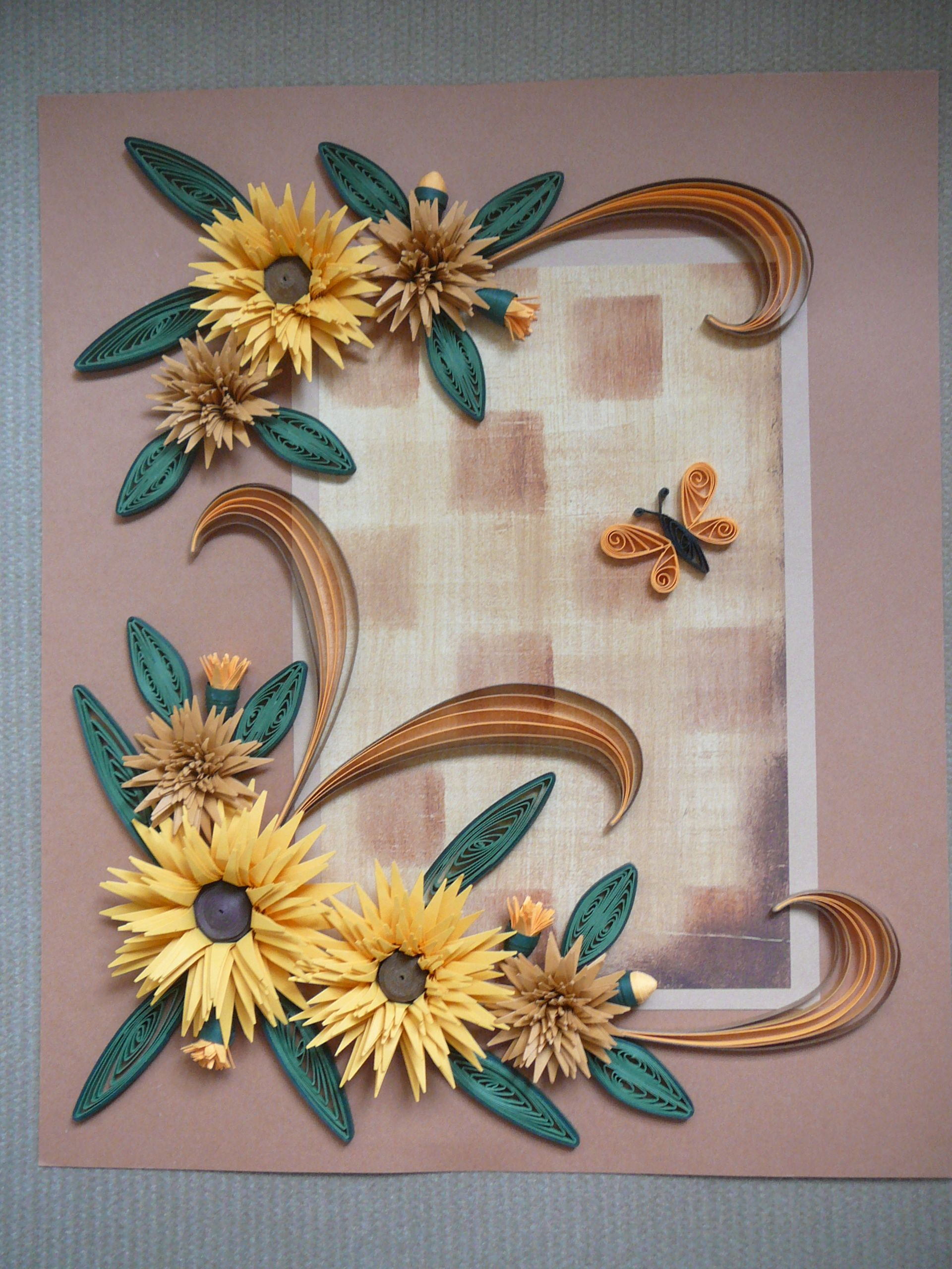 Paper Quilled Wall Art By Dawn Dawn 39 S Crafts Pinterest