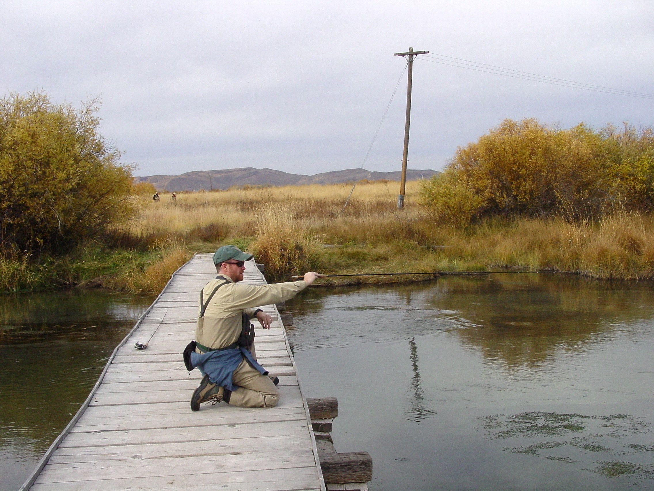 Big fish located silver creek idaho fly fishing for Big 5 fishing