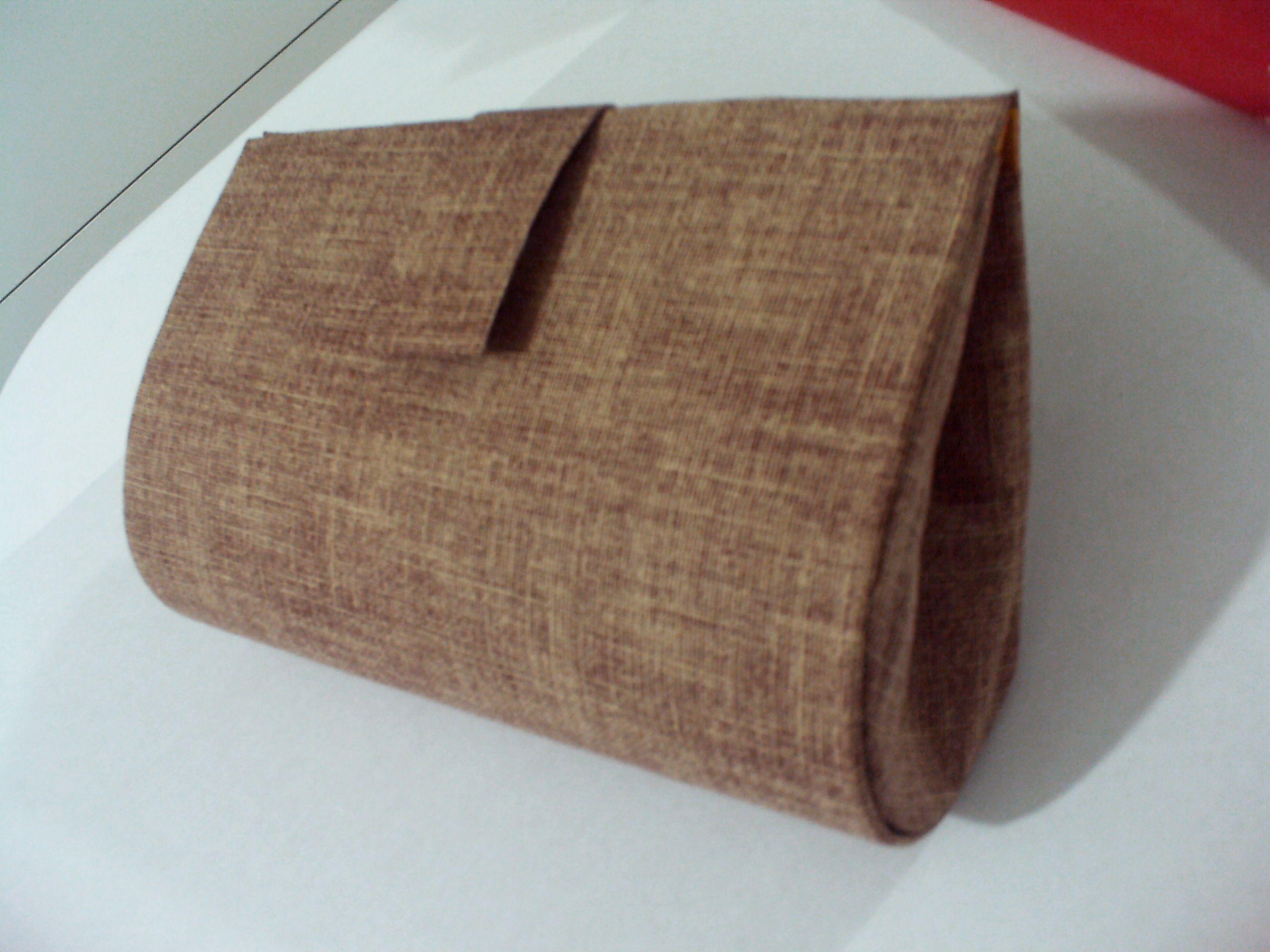 Bolsa Feita Em Cartonagem : Bolsa cartonagem tecido em algod?o