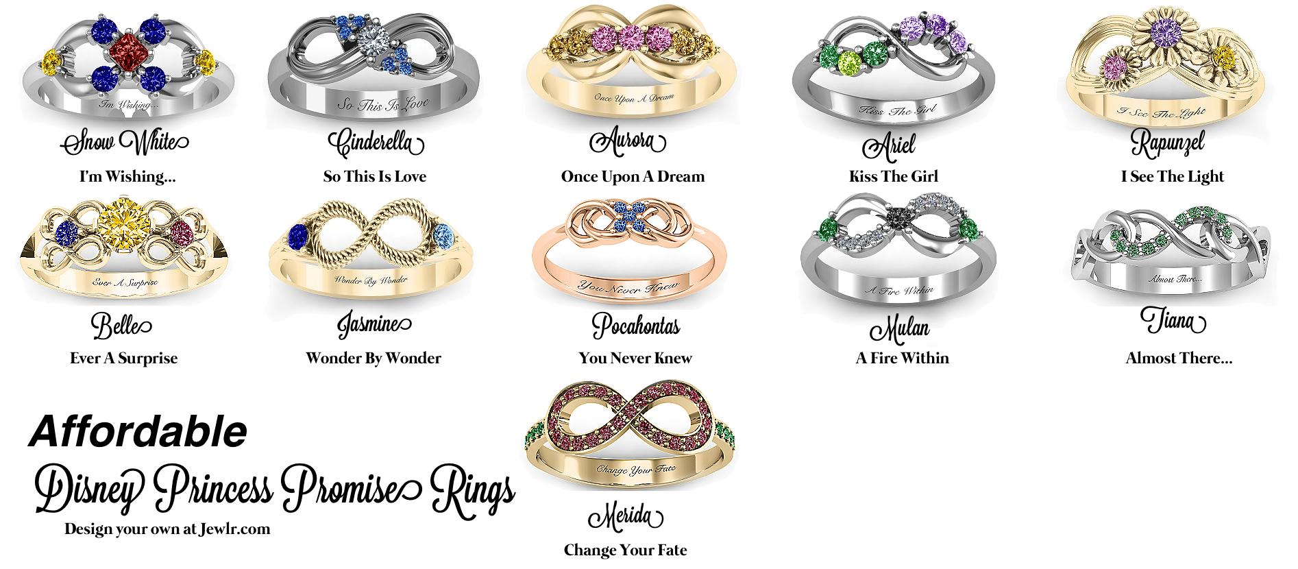 rings on disney engagement rings disney