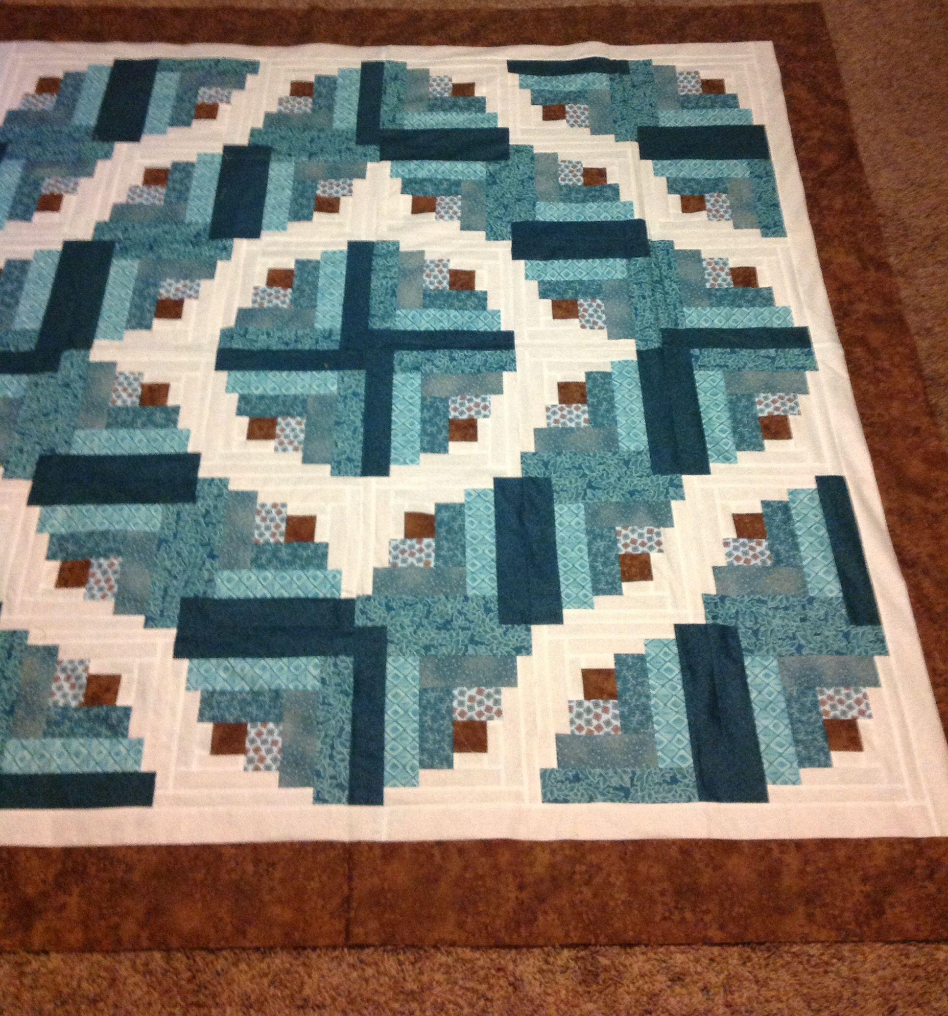 Curved Log Cabin Quilt Patterns - Patterns Kid