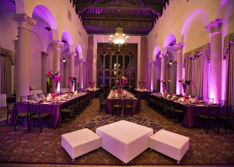 Purple wedding reception purple wedding pinterest