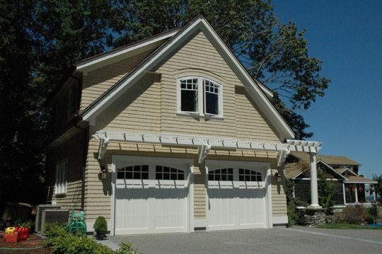 Trellis Over Garage Home Pinterest