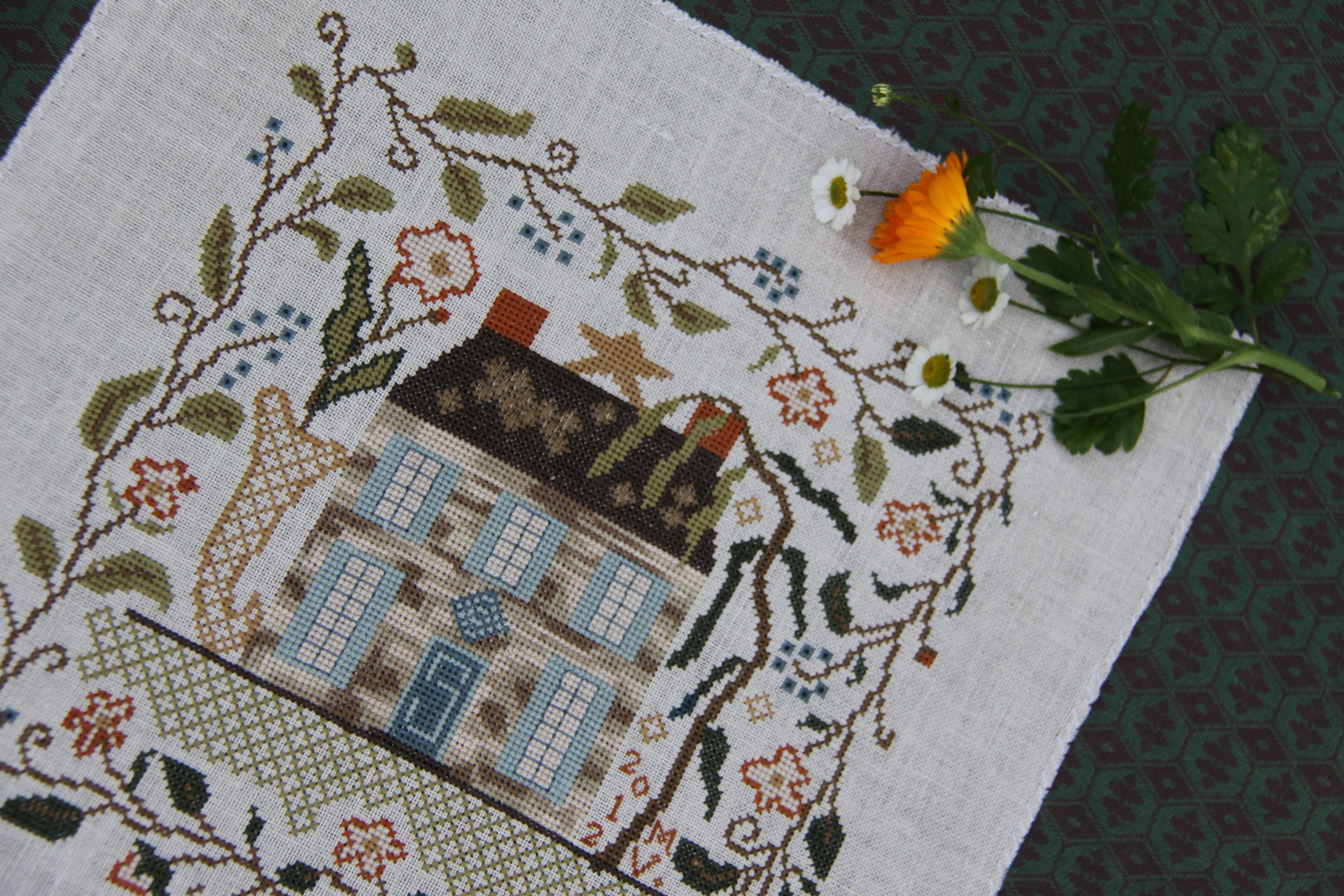 Pin by carol funicelli on cross stitch pinterest for Blackbird designs english garden