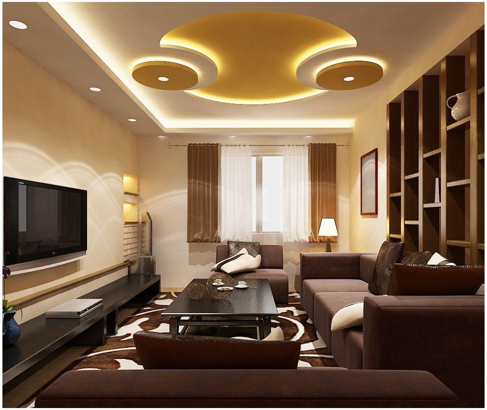 living room p o p design  Excellent Photo of ceiling pop design for living room 30 modern pop ...