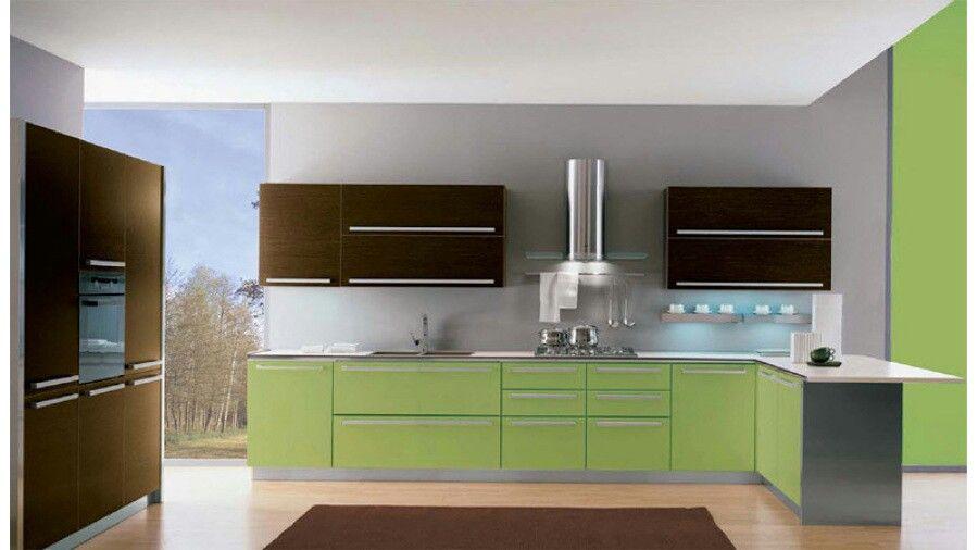 Combinaci n de colores para la cocina pinterest for Colores de pared para cocina