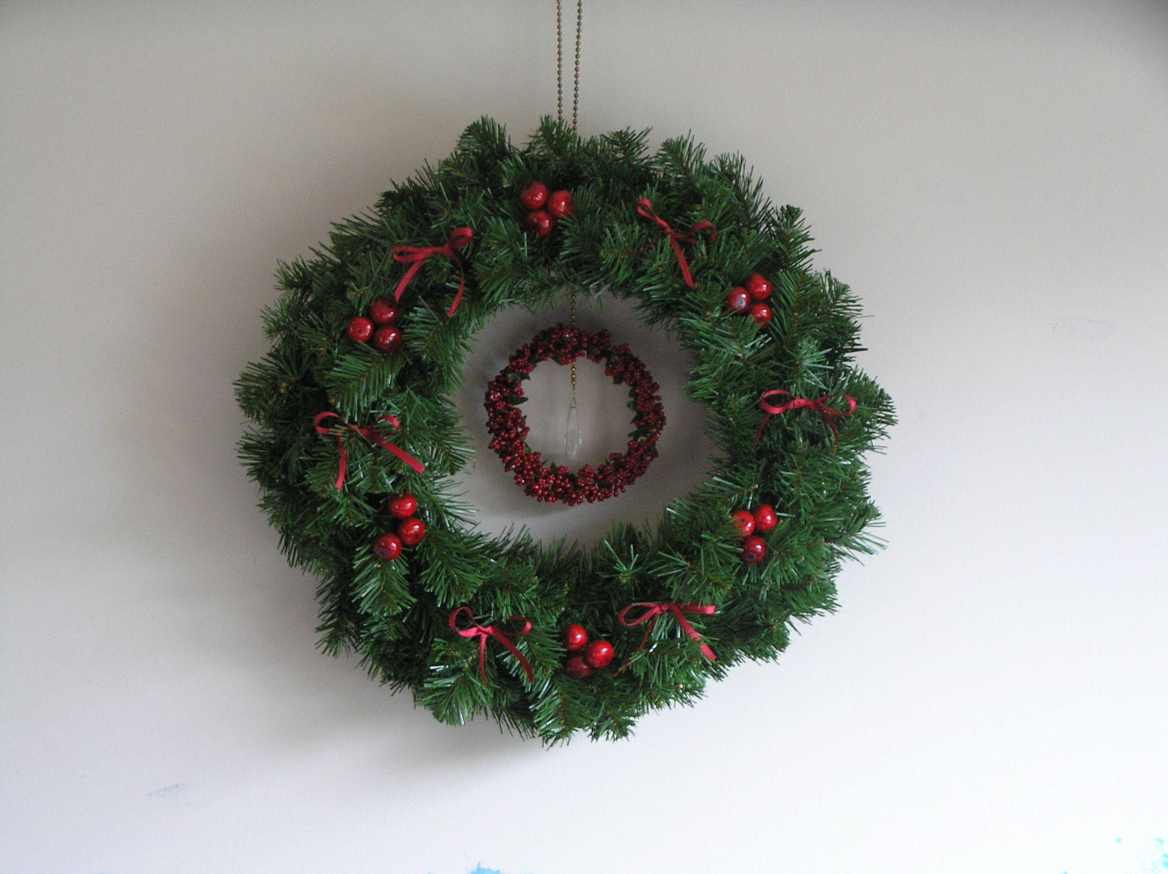 christmas wreath christmas cheer pinterest