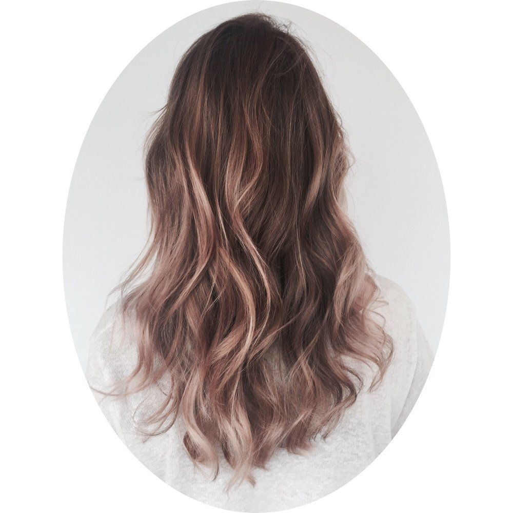 Rose Brown Hair is The Prettiest Spring Trend for Brunettes pics