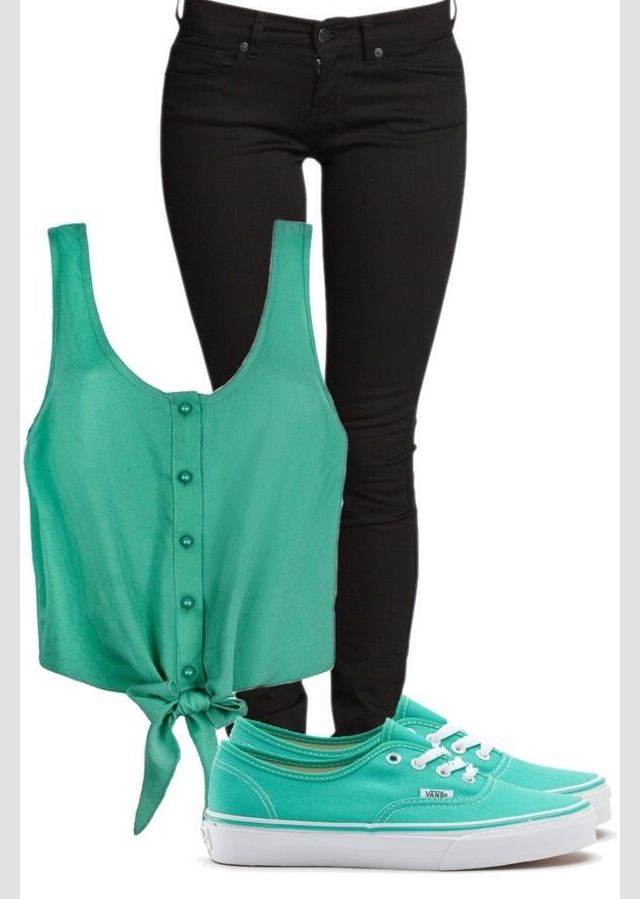 Cute outfit with vans | Teen things ) | Pinterest